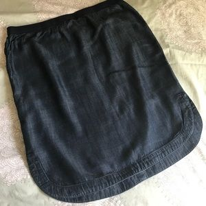 Gap Pull-on Tencel Skirt